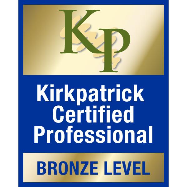 Kirkpatrick certified logo